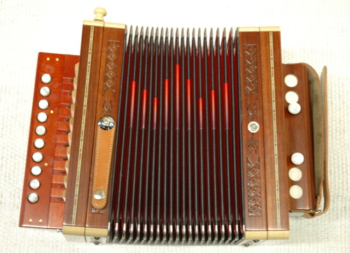 diatonic accordions Cajun